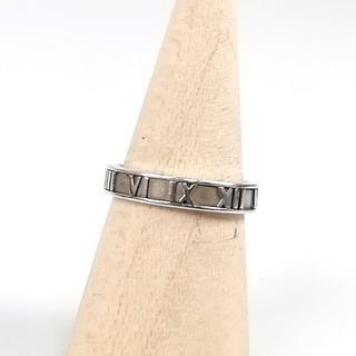 ティファニー(Tiffany & Co.)の美品 ティファニー メンズ アトラス シルバー リング YL45(リング(指輪))