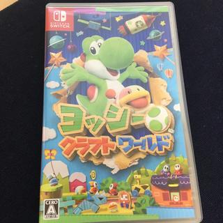 Nintendo Switch - ヨッシー クラフトワールド 美品