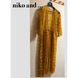 niko and... - niko and... ニコアンド レース ガウン