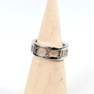 ティファニー(Tiffany & Co.)の美品 ティファニー アトラス シルバー リング 指輪 YL46(リング(指輪))