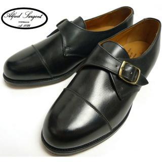 アルフレッドサージェント モンクストラップシューズ23.5cm(ローファー/革靴)