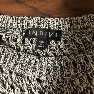 インディヴィ(INDIVI)のINDIVI ニット 05サイズ(ニット/セーター)