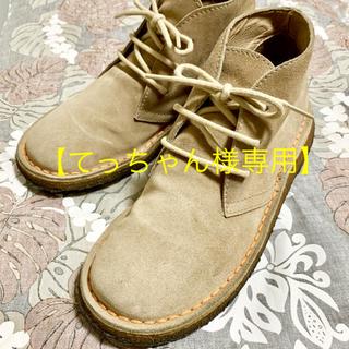 カンペール(CAMPER)のてっちゃん様専用/カンペール 牛革スエードブーツ /良品 (ブーツ)