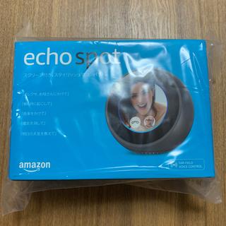 エコー(ECHO)の【新品未開封】echo spot ブラック(その他)