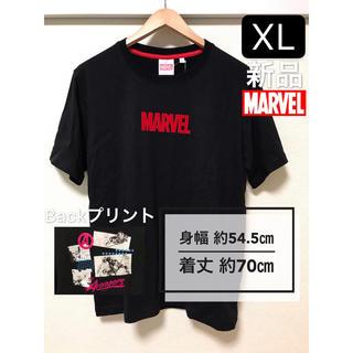 マーベル(MARVEL)の新品未使用 大きいサイズXL MARVEL Tシャツ Backプリント有り(Tシャツ/カットソー(半袖/袖なし))