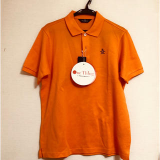 Munsingwear - 新品★マンシング ウェア★半袖★ポロシャツ★メンズ★L★オレンジ★ゴルフ★日本製