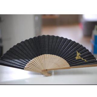 MIZUNO - 新品/送料無料/扇子/せんす/ミズノ/限定品/布/黒金色