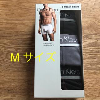 カルバンクライン(Calvin Klein)のM. 新品Calvin Klein ボクサーパンツ 3枚組(ボクサーパンツ)