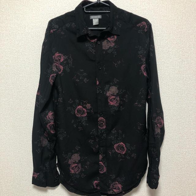 H&M(エイチアンドエム)の薔薇シャツ メンズのトップス(シャツ)の商品写真