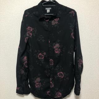 H&M - 薔薇シャツ