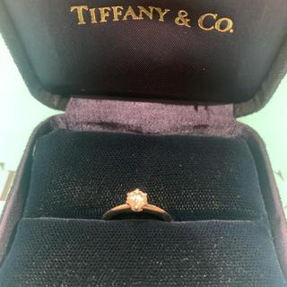 ティファニー(Tiffany & Co.)のティファニー リング 一粒ダイヤ 最終値下げ(リング(指輪))