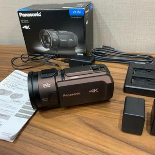 Panasonic - Panasonic 4Kビデオカメラ 美品HC-VX1Mブラウン 64GB内蔵