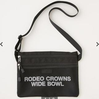 RODEO CROWNS WIDE BOWL - ロデオクラウンズ メッシュサコッシュ