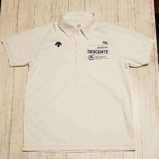 デサント(DESCENTE)のDESCENTE(デサント)ドライプラスポロシャツ メンズM(ポロシャツ)