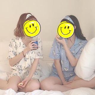 クレヨンしんちゃん シロ 韓国 パジャマ ルームウェア(パジャマ)