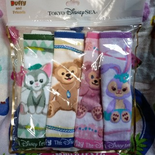 Disney - ダッフィー ハンドタオルセット