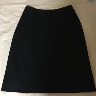 SELERY タイトスカート 黒(ひざ丈スカート)