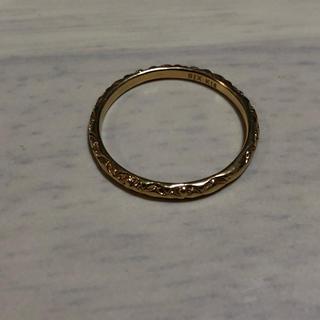 Chrome Hearts - SJX K18 模様入り リング 14号 指輪 メンズ