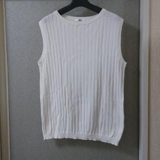 UNIQLO - ノースリーブ綿セーター