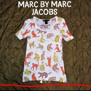 MARC BY MARC JACOBS - MARC BY MARC JACOBS ネコ 総柄カットソー