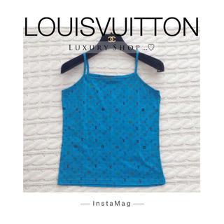 ルイヴィトン(LOUIS VUITTON)の♡正規品♡ LOUIS VUITTON ♡モノグラム♡キャミソール♡ (キャミソール)