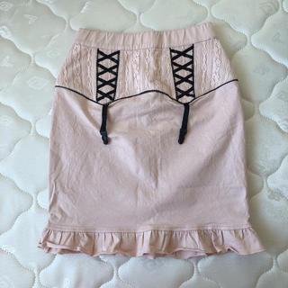 ハニーシナモン(Honey Cinnamon)のHoney Cinnamon ガータースカート(ひざ丈スカート)