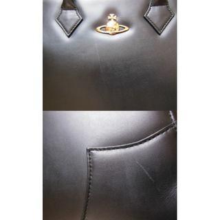 ヴィヴィアンウエストウッド(Vivienne Westwood)の【確認用1】ヴィヴィアンウエストウッド レザー バッグビジネス 黒 オーブ付(ハンドバッグ)