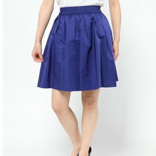 ティアラ(tiara)のTiara ティアラ フレアスカート M 3 ブルー ネイビー 青(ひざ丈スカート)