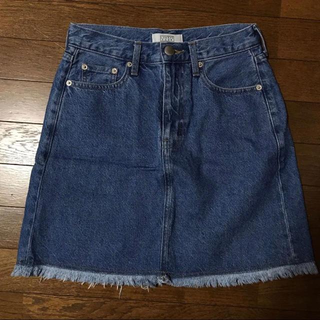 LOWRYS FARM(ローリーズファーム)の新品☆フリンジデニムスカート レディースのスカート(ミニスカート)の商品写真