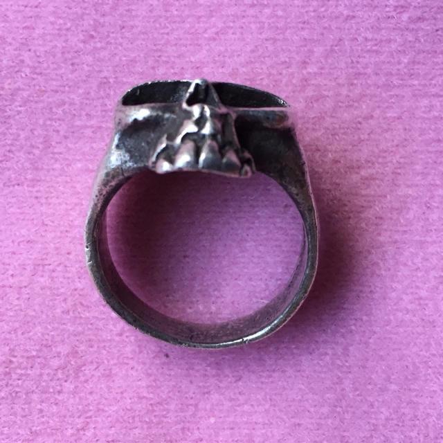 シルバースカル指輪を① メンズのアクセサリー(リング(指輪))の商品写真