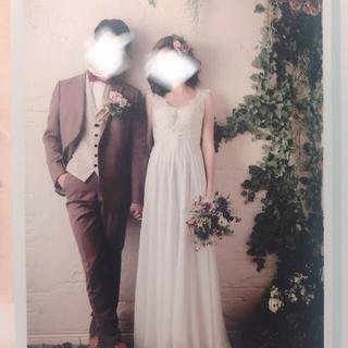 2次会 前撮り 結婚式 ウエディングドレス インポート(ウェディングドレス)