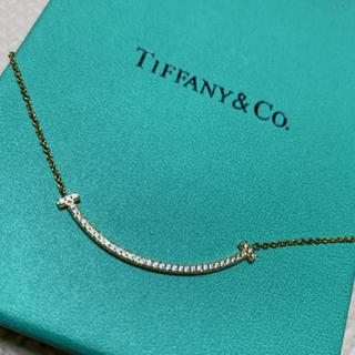 Tiffany & Co. - TIFFANY スマイル ダイヤ ゴールド