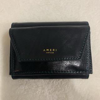 アメリヴィンテージ(Ameri VINTAGE)の新品Ameriアメリノベルティミニ財布ブラックレア(財布)