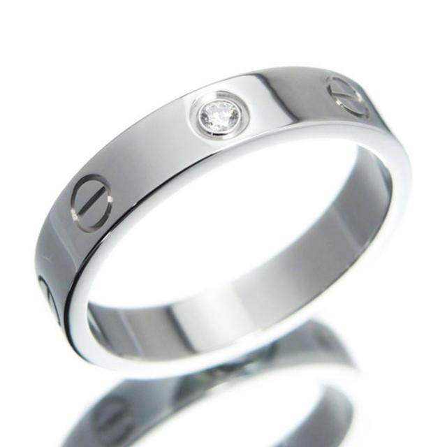 Cartier(カルティエ)のcartier ミニラブリング 1pダイヤ 14号  メンズのアクセサリー(リング(指輪))の商品写真