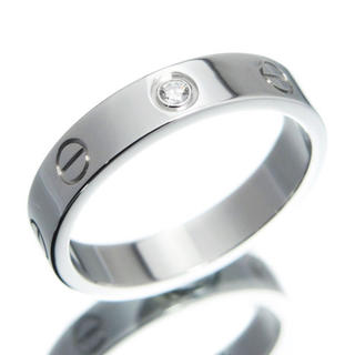 カルティエ(Cartier)のcartier ミニラブリング 1pダイヤ 14号 (リング(指輪))