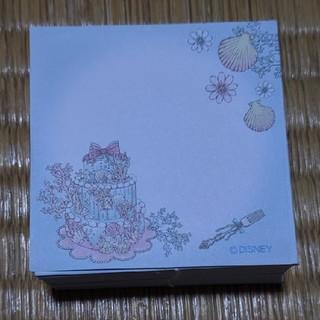 Disney - メモ用紙 アリエル 200枚