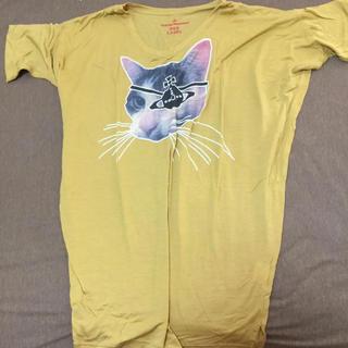 ヴィヴィアンウエストウッド(Vivienne Westwood)の変形猫Tシャツ(Tシャツ(半袖/袖なし))