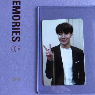 ボウダンショウネンダン(防弾少年団(BTS))の BTS MEMORIES OF 2018 DVD ホソク トレカ(写真/ポストカード)