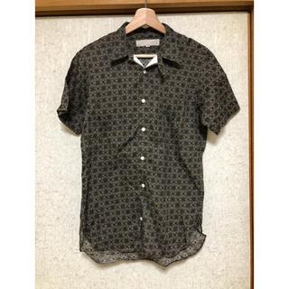 ビームス(BEAMS)の美品 HAVERSACK 半袖シャツ 柄 Mサイズ アメカジ 開襟シャツ アロハ(シャツ)