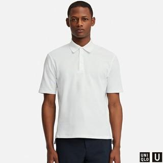 UNIQLO - ユニクロユーUスーピマコットンポロシャツ L  高品質ルメール