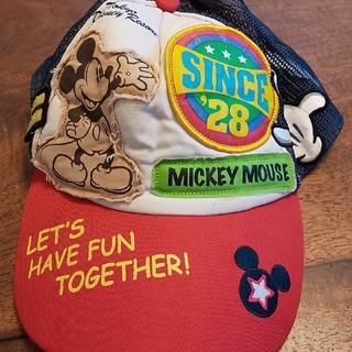 Disney - kids cap ミッキーマウス