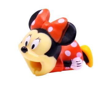 Disney - ミニーマウス ケーブルカバー