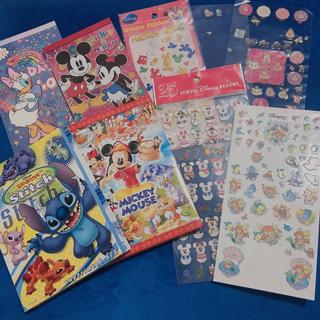 Disney - ディズニー メモ帳 シール まとめ売り