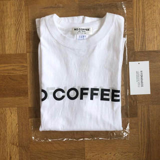 FRAGMENT - NO COFFEE NO FUJIWARA コラボ Tシャツ 白 S