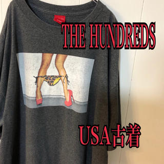 Supreme - THE HUNDREDS×visual フォトT USA古着