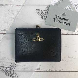 ヴィヴィアンウエストウッド(Vivienne Westwood)の ◆Vivienne Westwood◆大人気定番 二つ折り がま口財布(財布)