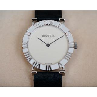 ティファニー(Tiffany & Co.)の美品 ティファニー アトラス シルバー メンズ Tiffany (腕時計(アナログ))