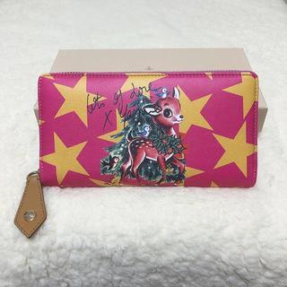ヴィヴィアンウエストウッド(Vivienne Westwood)の新品♡Vivienne Westwood ピンク バンビ ラウンドジップ 長財布(財布)