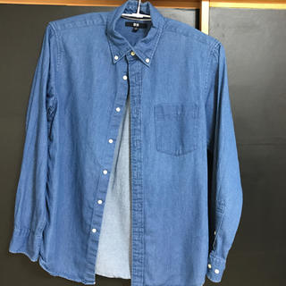 UNIQLO - UNIQLO ブルーシャツ