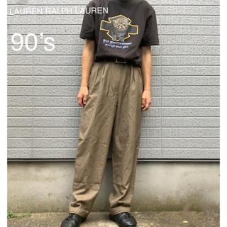 ラルフローレン(Ralph Lauren)の【古着】LAUREN RALPH LAUREN チェックパンツ(スラックス)